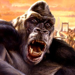 Kong: Skull Island Adventure - Kong: Skull Island Adventure is a puzzle game of epic proportions! - logo