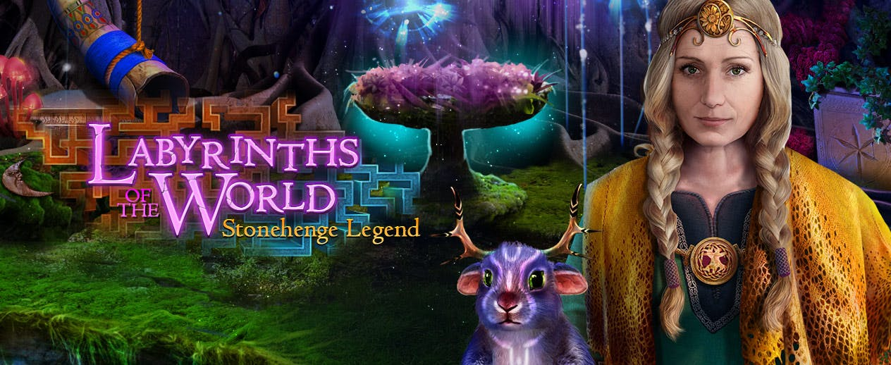 Labyrinths of the World: Stonehenge Legend - Find a way to enter these new world - image