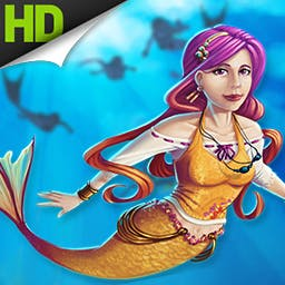 League of Mermaids - Join the League of Mermaids on an amazing Match-3 Physics puzzle adventure!  Help them save their homeland from destruction! - logo