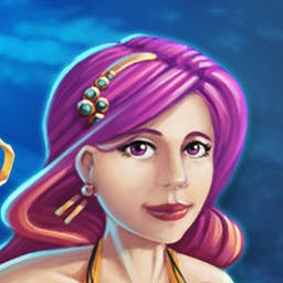 League of Mermaids - Help League members - Cora, Mishell, Koh, and Marina - on an epic quest to save their endangered mermaid homeland from destruction! - logo