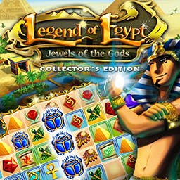 Legend of Egypt: Jewels of the Gods Collectors Edition - The gods Isis and Osiris take pity on the Pharaoh and give him one chance to save his wife! - logo