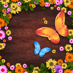 Letter Garden - Letter Garden is a beautiful word game! Grow more than 20 types of flowers. - logo