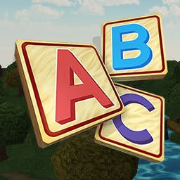 Letter Land Mahjong 2 - Letter Land Mahjong 2 provides a fun, relaxing way for your child to learn to recognize and pronounce the alphabet! - logo