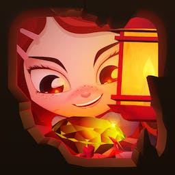 Lily's Epic Quest - Join Lily as she searches for treasure and fame in the match 3 game Lily's Epic Quest! - logo