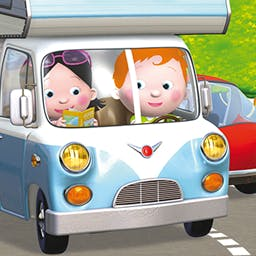 Little Boy: Harvey's RV - Little Boy: Harvey's RV is a vacation adventure for your preschooler! - logo
