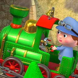 "Little Boy: Wayne's Train - Little Boy: Wayne's Train, based on the popular ""Little Boy"" books, gives your child the chance to be a train conductor! - logo"