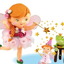 Little Girl: Mary Plays At Being A Fairy - In the interactive story Little Girl: Mary Plays At Being A Fairy, your child's dreams can come true! - logo
