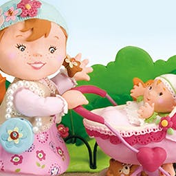 Little Girl: Molly Is Playing With Her Dolly - Based on the 'Little Girl' books, Little Girl: Molly Playing With Her Dolly is a cute interactive story created for preschool children. - logo