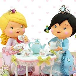 Little Girl: Tess Plays At Being A Princess - Little Girl: Tess Plays At Being A Princess, es una divertida historia interactiva basada en la popular serie de libros Little Girl. - logo