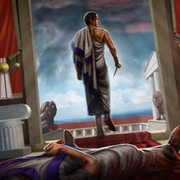 Lost Chronicles: Fall of Caesar - Lost Chronicles: Fall of Caesar is a hidden object game that puts you on the trail of Brutus after he murders his friend, Julius Caesar! - logo