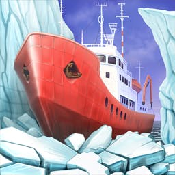 Lost in Reefs: Antarctic - Play through exciting match 3 levels and find a lost civilization in Lost in Reefs: Antarctic! - logo