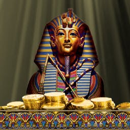 Lost Secrets: Ancient Mysteries - Test out your archeologist muscles in Lost Secrets: Ancient Mysteries! Uncover hidden objects to discover King Tut's mysteries. - logo