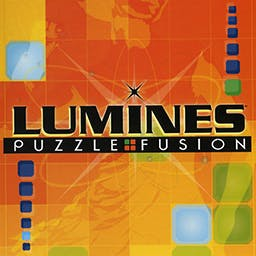 Lumines - The addictive Console game is now enhanced for play on your PC. - logo