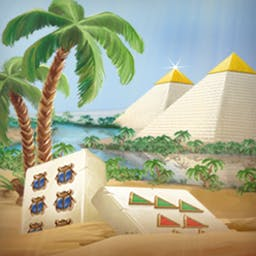 Mahjongg - Ancient Egypt - Explore Egypt by playing your favorite game in Mahjongg - Ancient Egypt! - logo