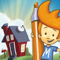 Max and the Magic Marker - Max and the Magic Marker lets you draw inside the game to solve puzzles! - logo