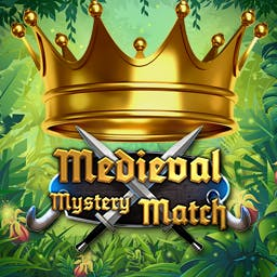 Medieval Mystery Match - Enjoy this medieval themed fantasy match 3 game. t\Travel this fantasy world as you match your way through 100 levels. - logo