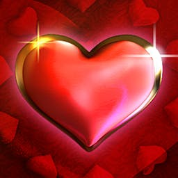 Mega Hearts 2 Slots - Mega Hearts 2 Slots is a fun slot machine simulation with tasty graphics and a delicious jackpot! - logo