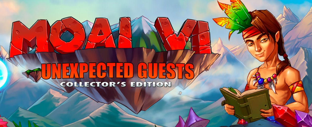 Moai 6: Unexpected Guests Collector's Edition - Join two heroes on one grand adventure! - image