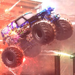 Monster Jam Battlegrounds - Monster Jam Battlegrounds brings the touring show straight to the fans. It's the ultimate experience! - logo