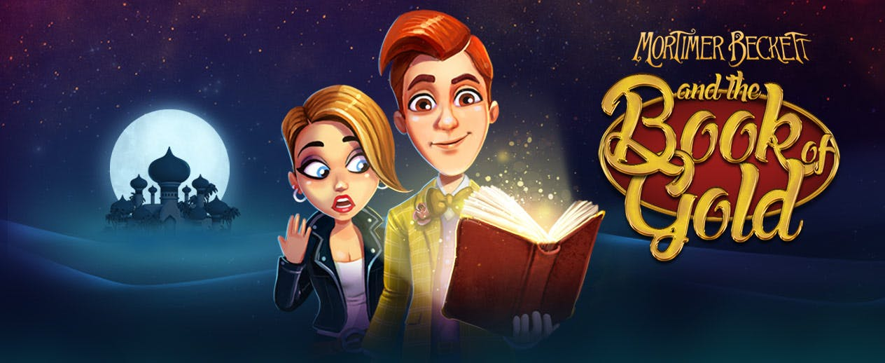 Mortimer Beckett and the Book of Gold -  - image