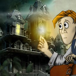 Mortimer Beckett and the Secrets of Spooky Manor - Search a ghostly setting to discover the secrets of Spooky Manor! - logo