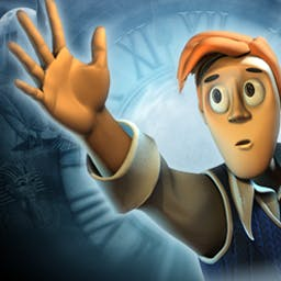 Mortimer Beckett and the Time Paradox - Mortimer Beckett and the Time Paradox is more than a hidden object game! - logo
