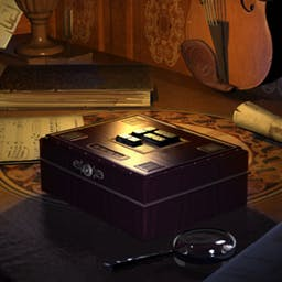 Musaic Box - Musaic Box is an unusual combination of musical puzzles and detective story! Solve puzzles and gather clues to create musical scores. - logo