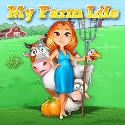 My Farm Life - Lisa might be in over her head as star of the new TV show My Farm Life! - logo