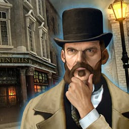 """Mystery Murders: Jack the Ripper - It's 1888 and the """"Autumn of Terror"""" is about to begin.  Help catch a notorious killer in the hidden object game Mystery Murders: Jack the Ripper. - logo"""