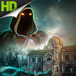 Mystery of Mortlake Mansion - Two realities. One evil. Collect all the keys and reveal the secrets of the Mystery of Mortlake Mansion, a hidden object game. - logo