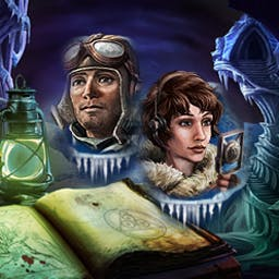 Mystery Stories: Mountains of Madness - Trek through a hidden city in Antarctica and search for hidden objects  in Mystery Stories: Mountains of Madness! Based on H.P. Lovecraft's tale! - logo