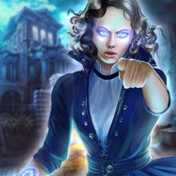Mystery Trackers Blackrows Secret - What will you find here? Play the hidden object game Mystery Trackers Blackrows Secret! - logo