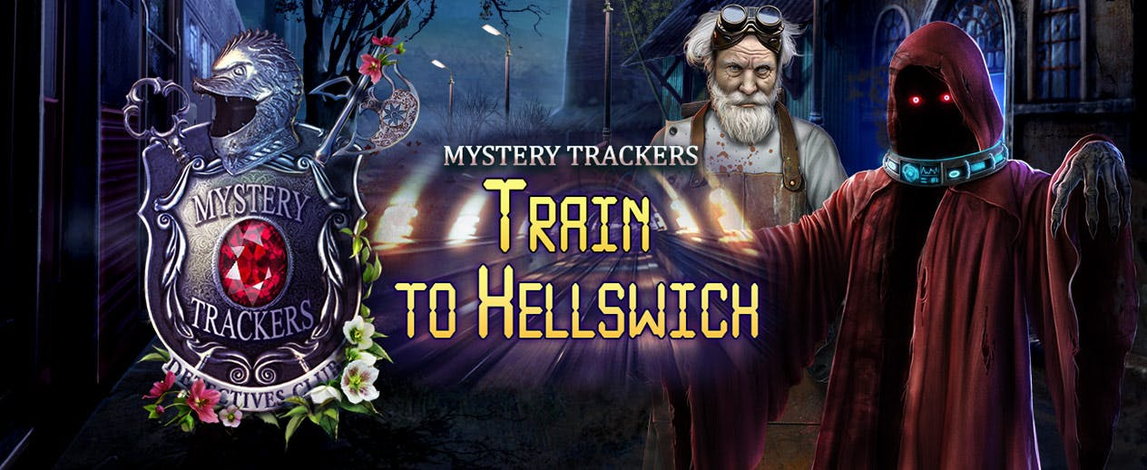 Mystery Trackers: Train to Hellswich - A normal train ride quickly takes a dark - image