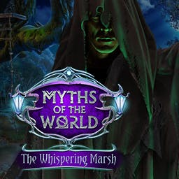 Myths of the World: The Whispering Marsh - You'll have to act fast to find out before it's lights out for you, too, in this chilling Hidden Object Puzzle Adventure game! - logo