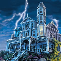Nancy Drew: Message in a Haunted Mansion - Nancy is about to stumble onto a secret that someone - living or dead- would rather keep unknown. As an inn renovator, see how Nancy uncovers secrets! - logo
