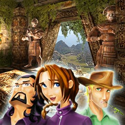 Natalie Brooks: The Treasures of the Lost Kingdom - Will you be able to save your grandfather?  You have only 24 hours to find an ancient map in Natalie Brooks: The Treasures of the Lost Kingdom! - logo