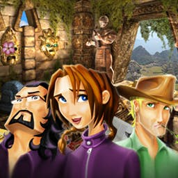 Natalie Brooks - The Treasures of the Lost Kingdom - Adventure awaits in the seek-and-find sensation: Natalie Brooks 2! - logo