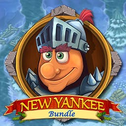 New Yankee Bundle - Get over 100 levels, time travel and Santa's reindeer in these 3 time management games. Get the New Yankee Bundle today! - logo