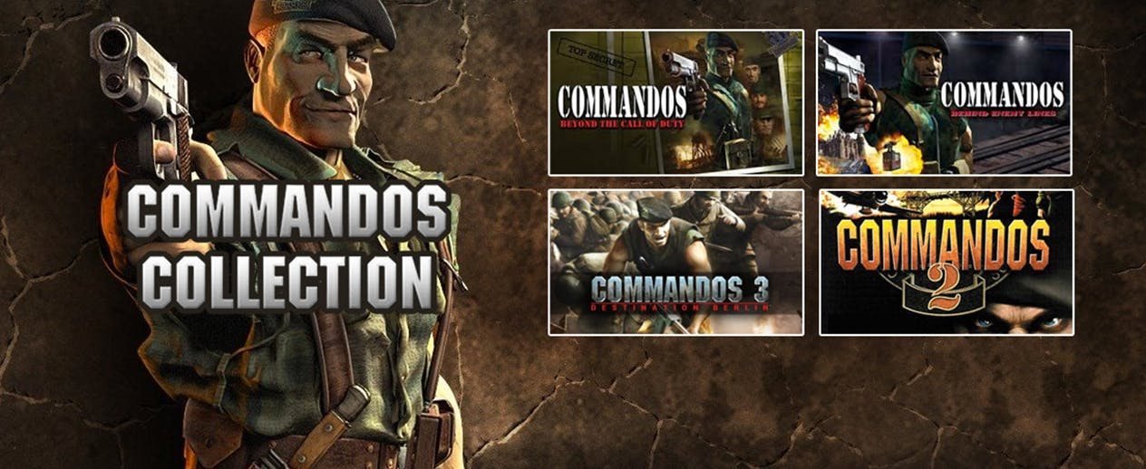 Commandos Collection - Engage the enemy across Europe - image