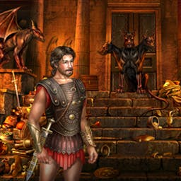 """Odysseus: Long Way Home - Odysseus: Long Way Home is a lovely Hidden Object adventure. Plunge into Greek mythology with the heroes of Homer's """"Odyssey."""" - logo"""
