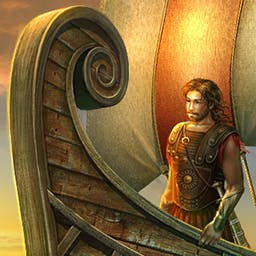 Odysseus: Long Way Home - Set out on Odysseus' 20-year journey from Troy to Ithaca in Odysseus: Long Way Home, a hidden object game. Live the epic! - logo