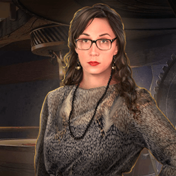 Off the Record: The Final Interview - It's a race against time to clear your name in this pulse-pounding Hidden Object Puzzle Adventure game! - logo