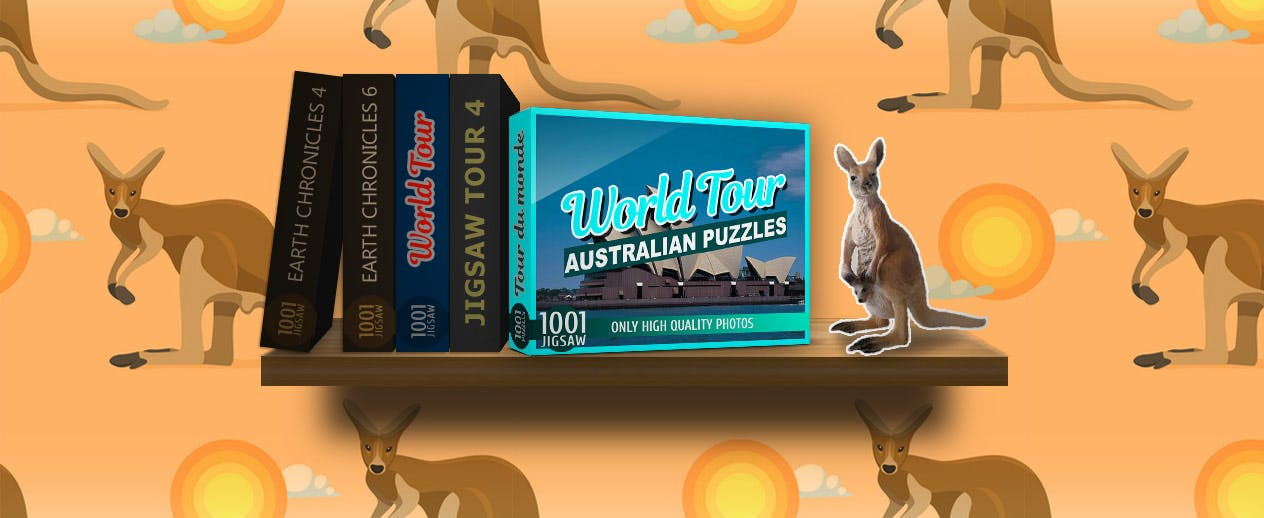 1001 Jigsaw World Tour: Australian Puzzles -  - image