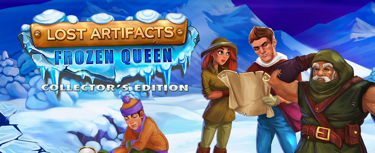 Lost Artifacts: Frozen Queen Collector's Edition - Save the world from a new Ice Age - image