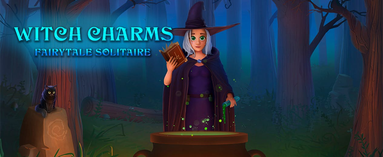 Fairytale Solitaire: Witch Charms - Brew your own potion! - image