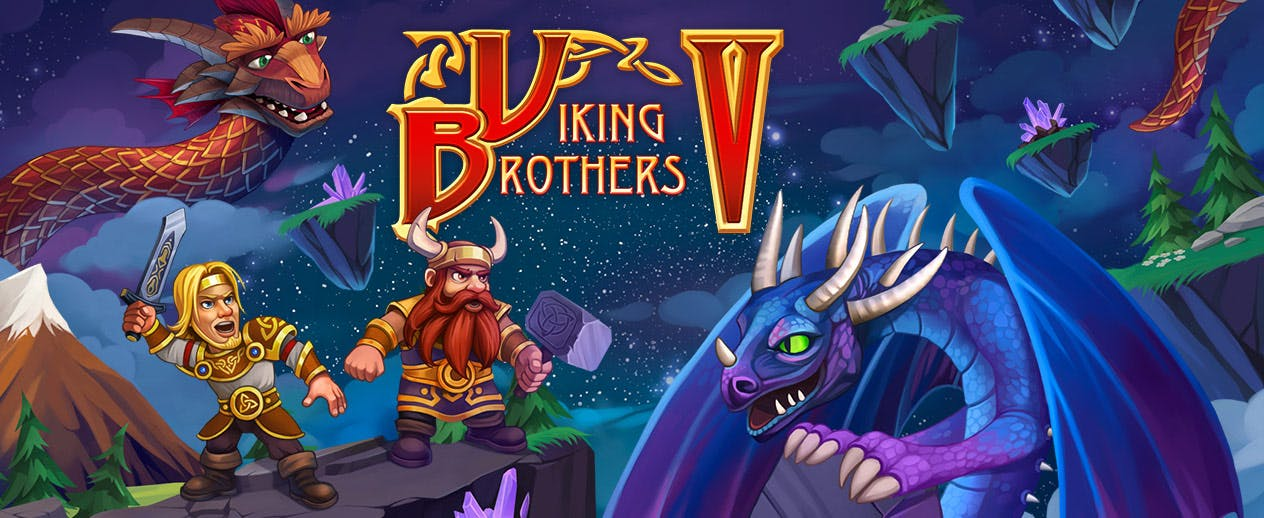 Viking Brothers 5 - Experience a magical adventure! - image