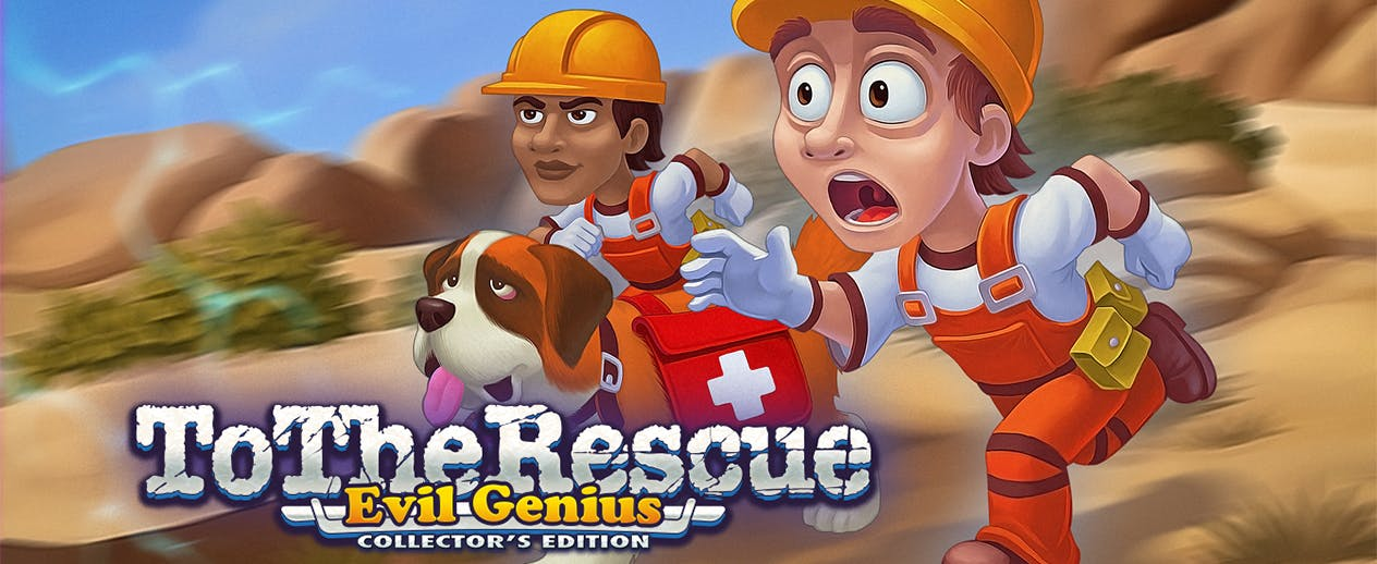 Rescue Team: Evil Genius Collector's Edition - Battle nature's fury! - image