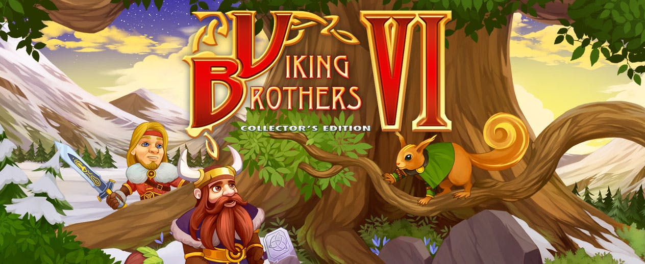 Viking Brothers 6 Collectors Edition - Guide the Vikings to victory! - image