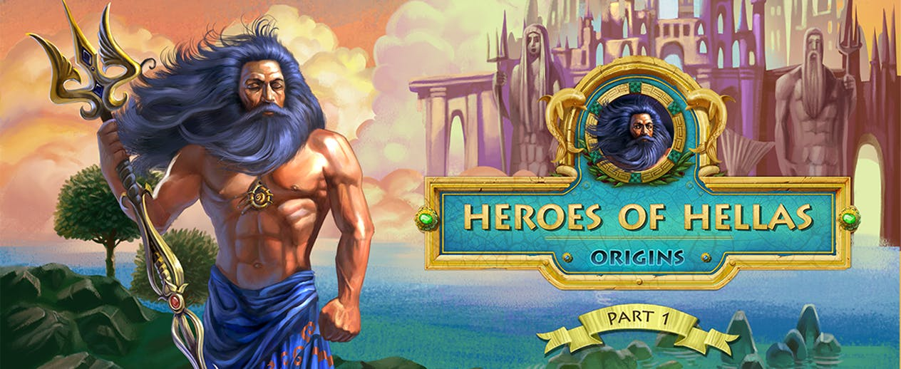 Heroes Of Hellas Origins: Part One - Bring peace to an ancient world! - image