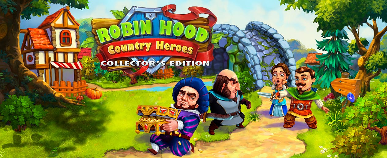 Robin Hood: Country Heroes Collector's Edition - Become the hero of legend! - image